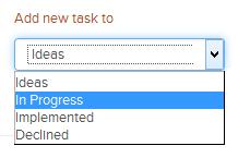 send tasklist