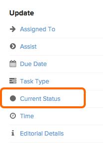 task-current status